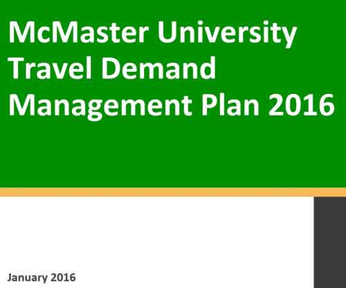 Travel Demand Management Plan